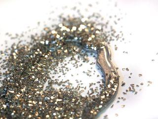 Silver-vintage-glass-glitte