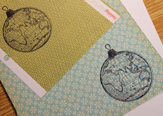 Stamped-globes