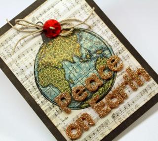Peace-on-earth-card-detail