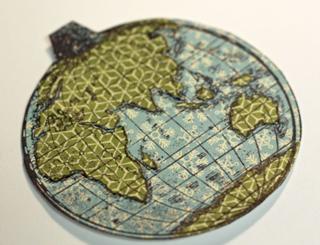 Paper-pieced-globe