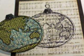 Globe-on-card
