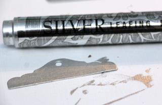 Silver-leafing-pen