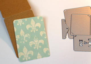 Die-cut-card