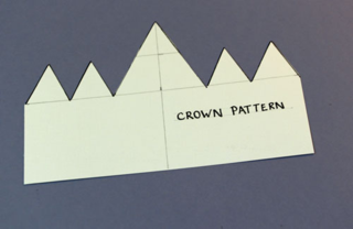 Crown-pattern-card