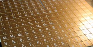 Gold-letter-tiles