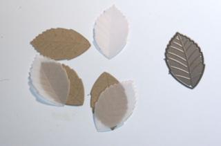 Diecut-vellum-leaves