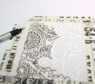 Tracing-the-stencil