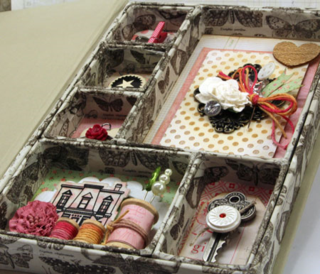 Shadow-box-interior