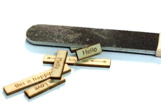 Filing-wood-edges