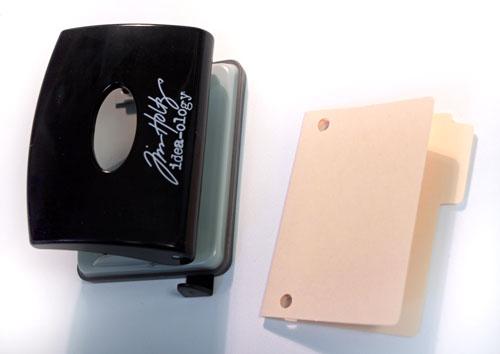 Punched-folder