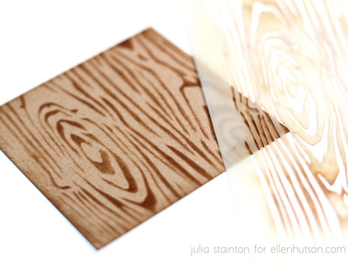 Wood-stencil