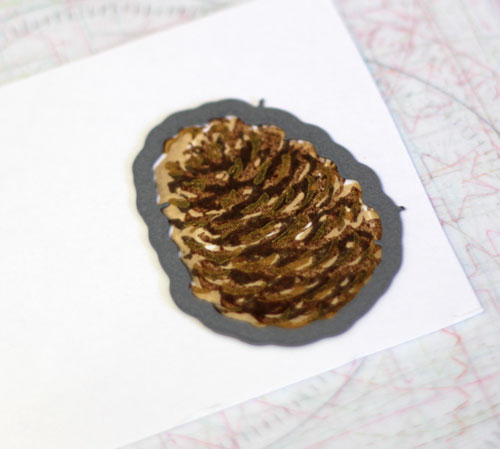 Pinecone-die-cut