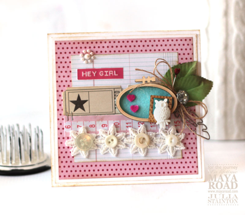 Hey Girl Freestyle Card by Julia Stainton featuring Maya Road