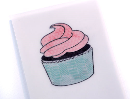 Cupcake-under-vellum