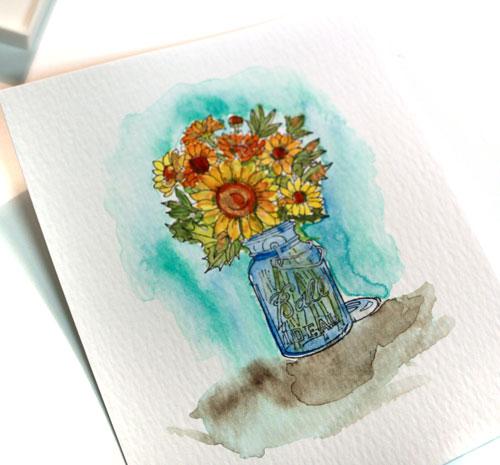Watercolor-vase-complete