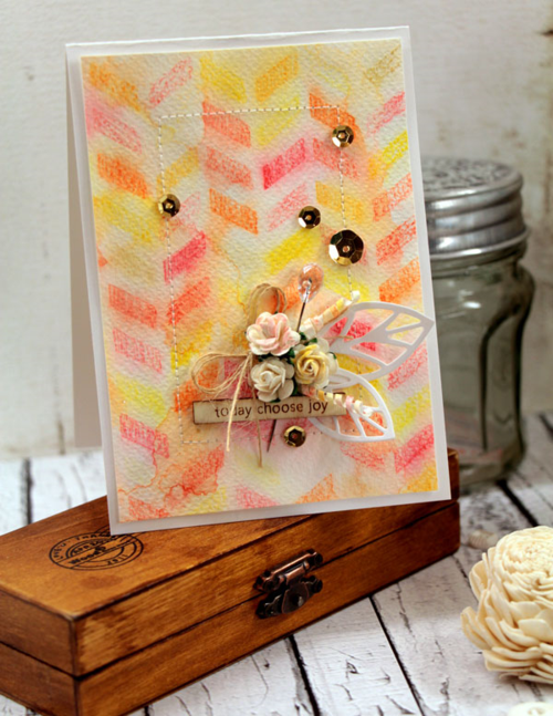 Choose-Joy-watercolor-penci