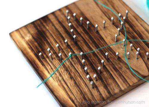 Tied-string