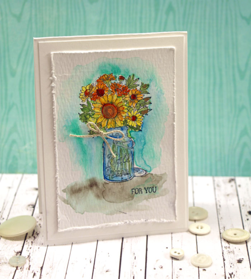 Watercolor-vase-card