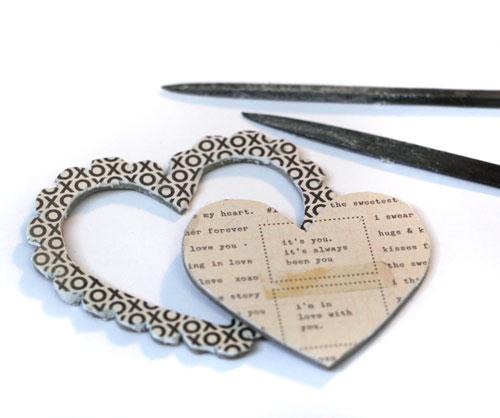 Chipboard-heart