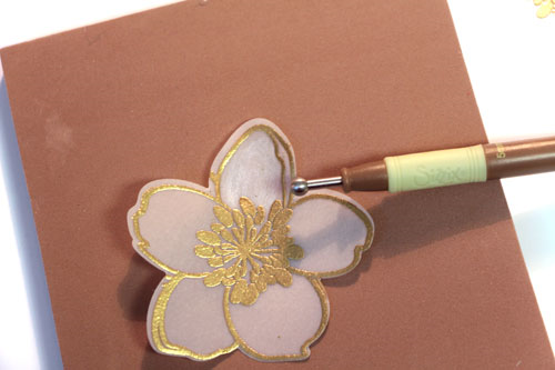 Burnishing-flower