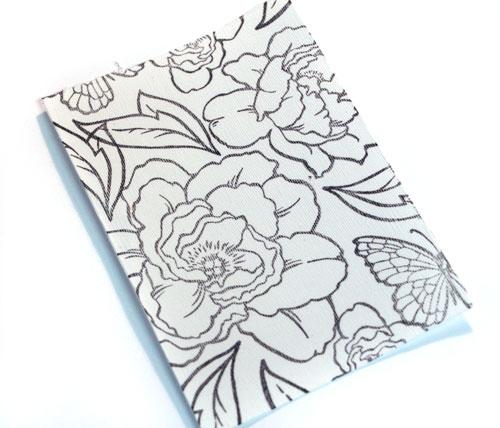 Stamped-garden-flowers
