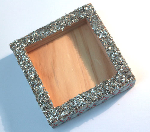Glass-glitter-edges